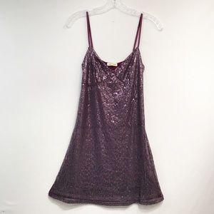 Silence + Noise • Women's Sequins Top Dress Size M